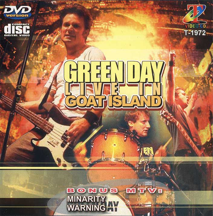 cine setlist show green day live in goat island 2000. Black Bedroom Furniture Sets. Home Design Ideas